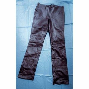 Guess Black Leather Pants.